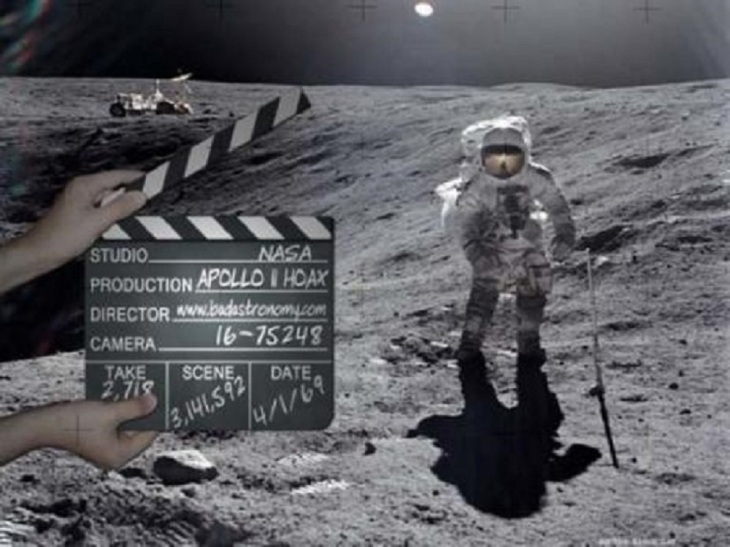 Apollo NASA Moon Fake Photo (2)