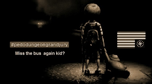 Miss the bus ~ Pedo kids Sepia dark 490