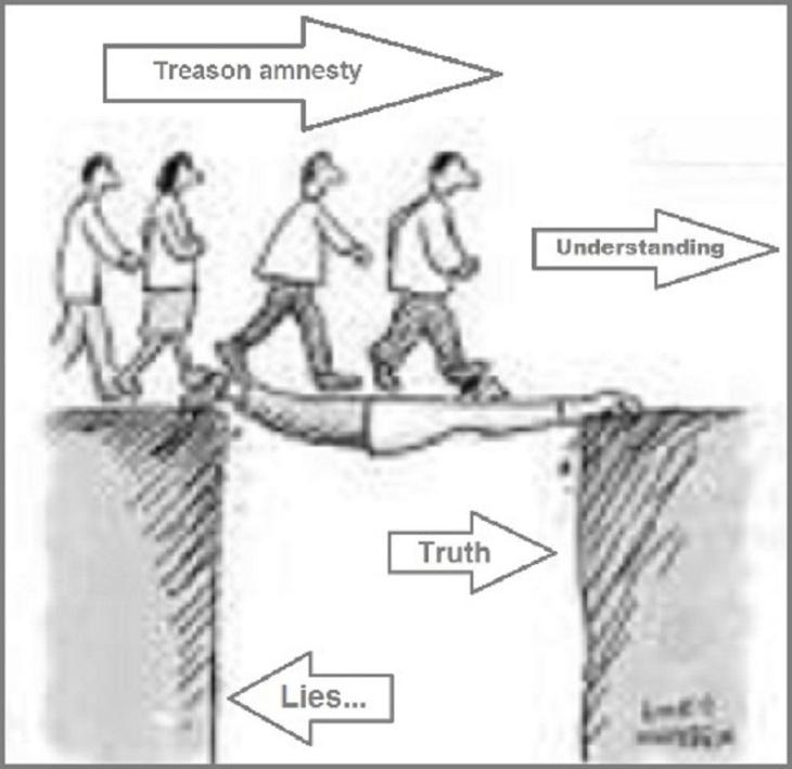 Treason amnesty Lies ~ 800
