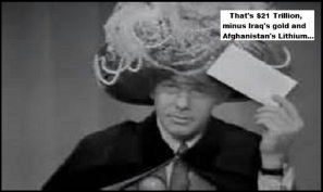 Carnac Johnny Carson Iraq's gold Afghanistan's Lithium (4)