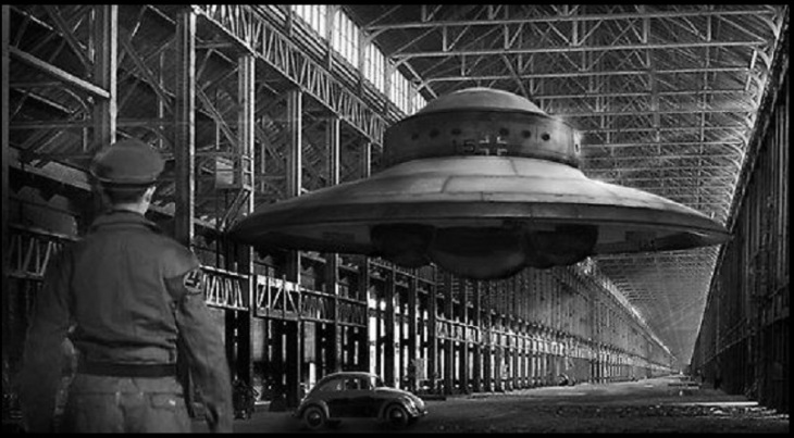 German flying saucer