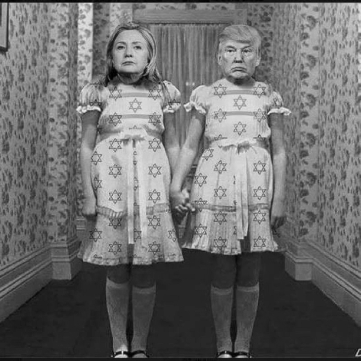 Grumpy Trumpy and Hillary