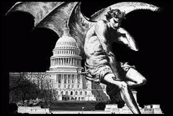 Lucifer devil angel over congress 560