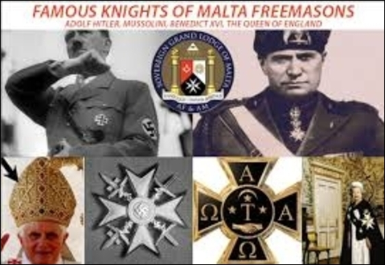 Knights of Malta Freemason's 560 border