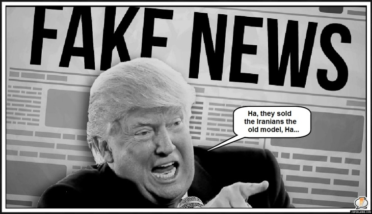 Sold Iranians the old model Grump Trump