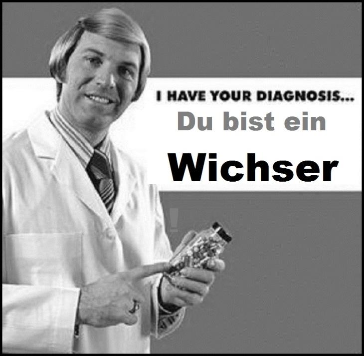 doctor-diagnosis Du bist ein Wichser!