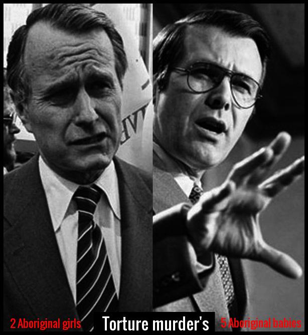 Fake Bush and Rumsfeld Torture Murder 614