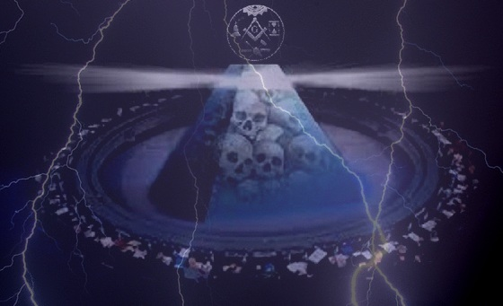 New World Order Masonic lightning