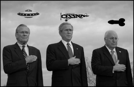 Rumsfeld Cheney Bush Sept 11 excuses