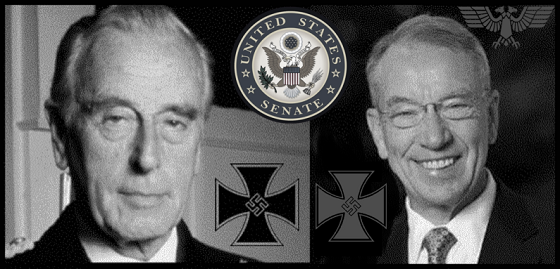 Mountbatten Grassley Senate Seal Knight of MALTA 560