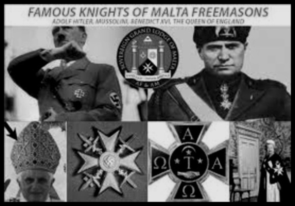 Knight of Malta fascists BW 600