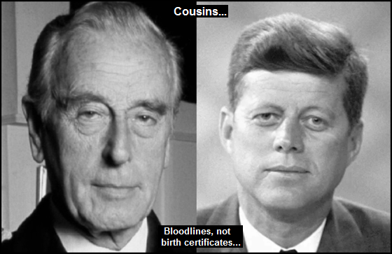 Mountbatten Kennedy Bloodlines not birth certificates 560