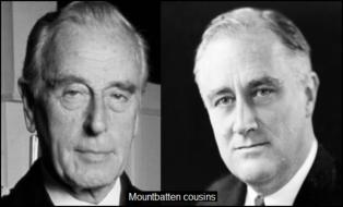 Mountbatten Roosevelt COUSINS 600