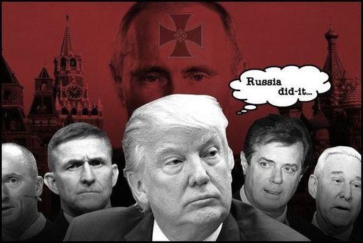 Trump Putin Nazi Russia 520