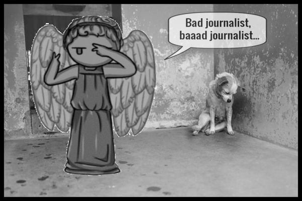 Bad journalist angel dog 600