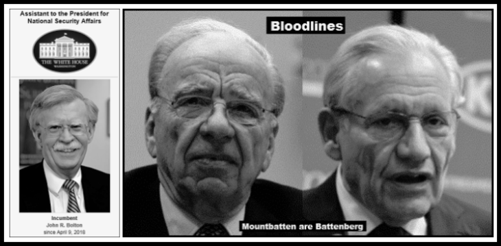 Bolton Murdoch Woodward White House bloodlines