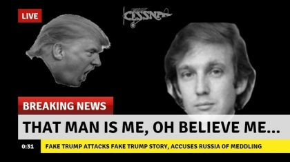 breaking-news two Trumps