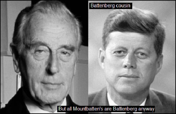 Mountbatten Kennedy Battenberg COUSIN 600 DUMMY