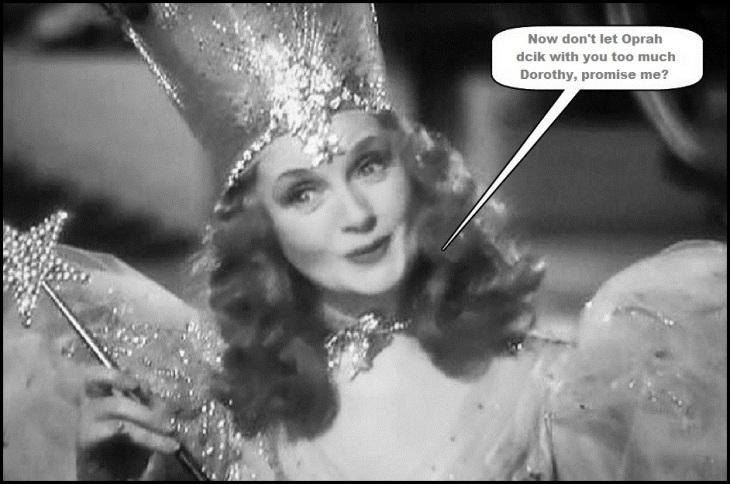 Nice fairy wizard of Oz Dorothy Oprah SMALLER Border LARGE