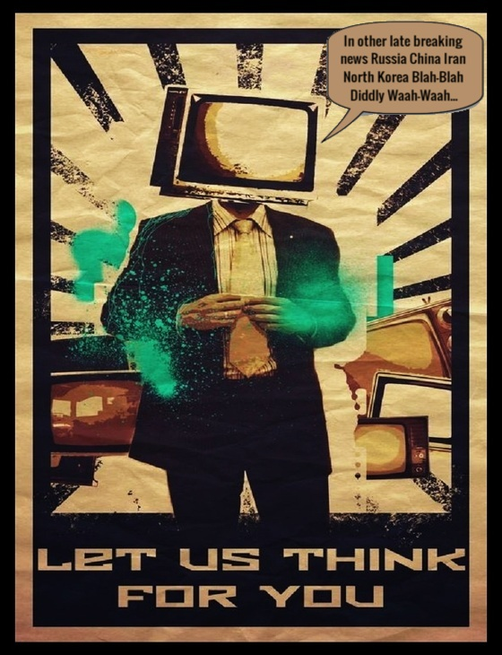 Television LET US THINK 560 BLAH BLAH