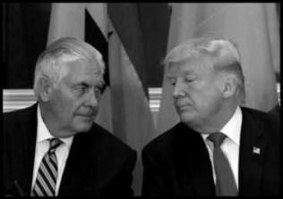 Tillerson and fake Trump