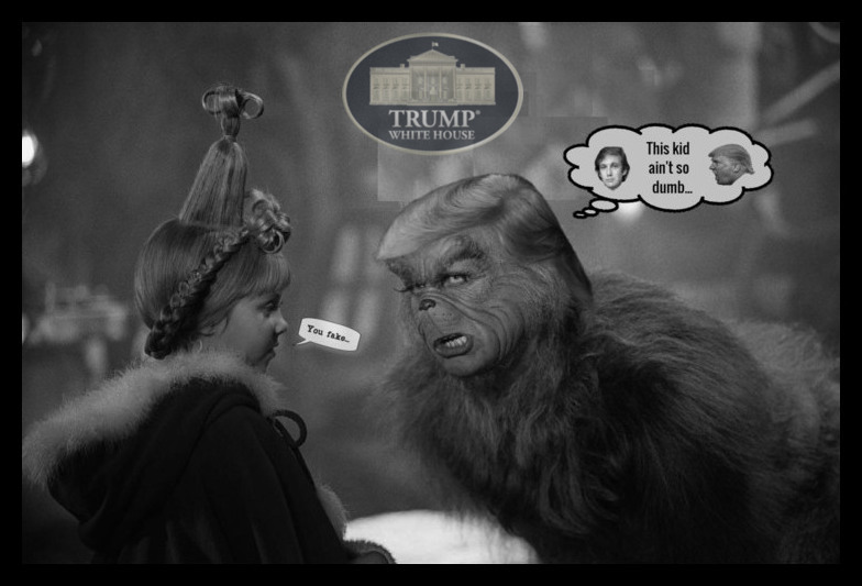 How the Grinch stole the WH…