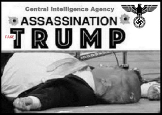 Trump Nazi assassination FAKE Red 600