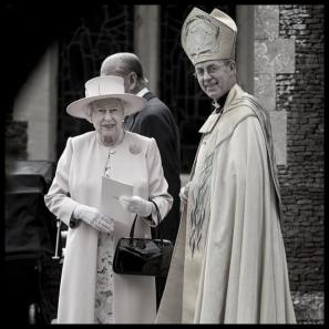 Archbishop-queen and HEH Phillip lower coplor border LARGE
