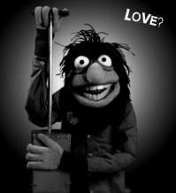 Crazy Harry with detonator BW Love