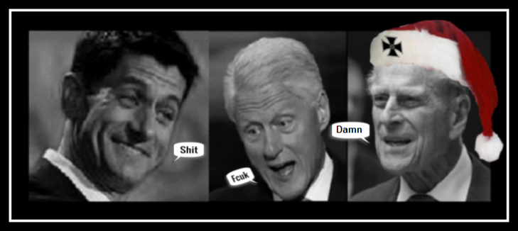 DAMN Ryan Slick Willy Clinton and HRH Phillip Large
