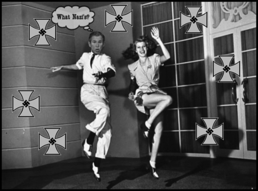 Dubya Bush and Rita Hayworth dancing WHAT NAZI'S 520