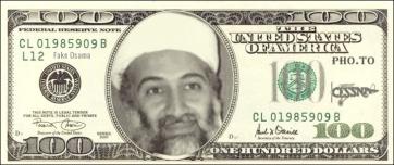 Fake Osama CESSNA 100 dollar bill