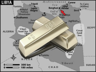Libyan gold red arrow 560 maybe