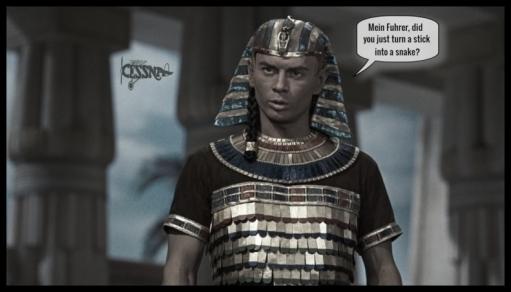 Pharaoh Mein Fuhrer stick and snake