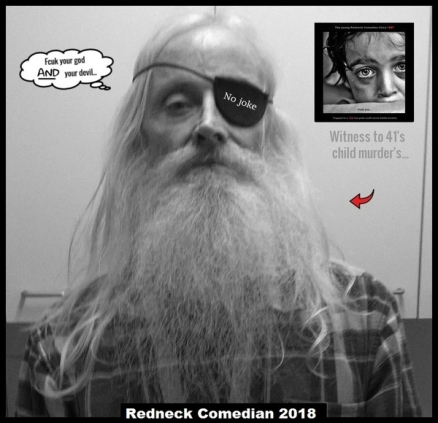Redneck Comedian FCUK YOUR GOD _ Red Arrow NO JOKE 600