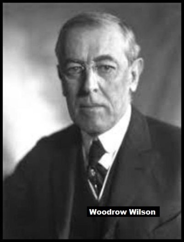 Woodrow Wilson Mountbatten Medium border