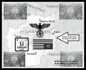 Afghan Lithium Nazi source of Mexican heroin LARGE
