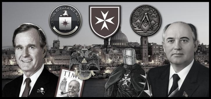 cia-masonry-malta-collage Bush Gorbachev lower color border LARGE