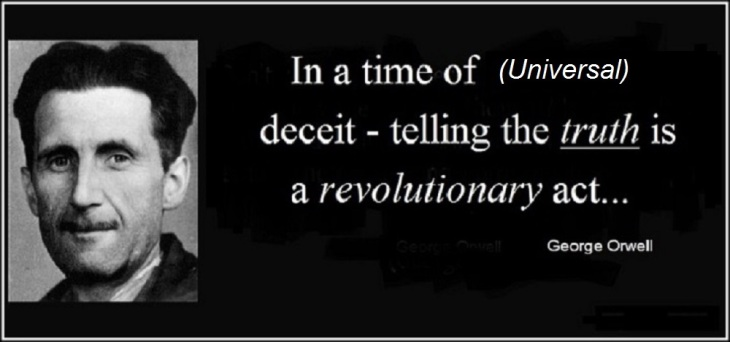 george-orwell-a-revolutionary-act-universal-deceit