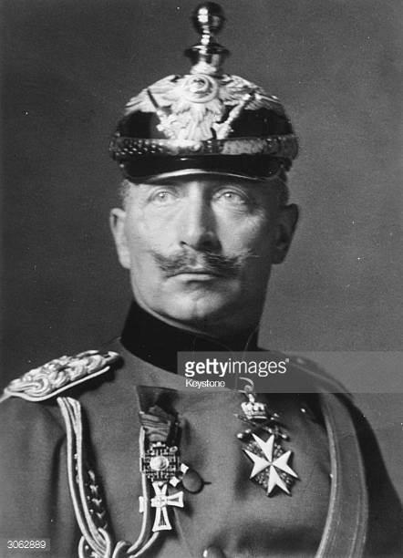 Kaiser Willhelm funny hat