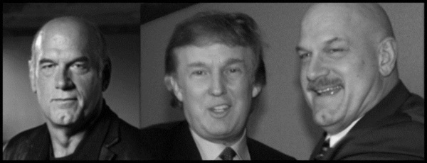 Two Ventura's and Donald Trump's estranged twin brother 600