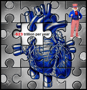 blue heart uncle sam jigsaw minus 23 trillion per year large