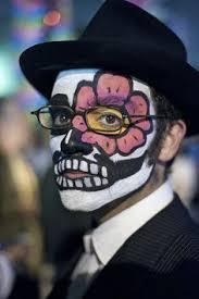 maquillaje de-la day of the dead