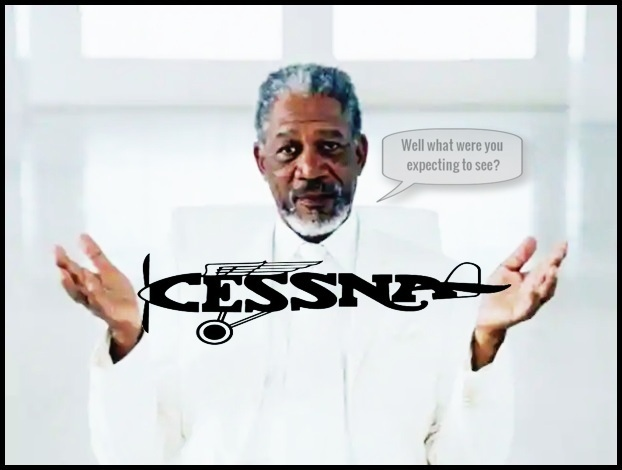 morgan freeman god cessna