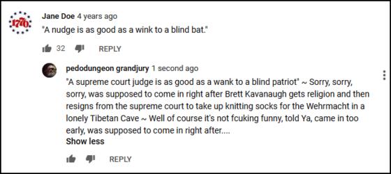 supreme court judge monty python comment 560