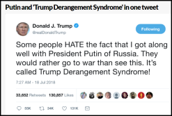 trump derangement syndrome tweet twitter