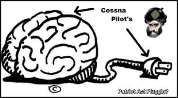 Brain Cessna Pilot's Patriot Act Pluggin 600