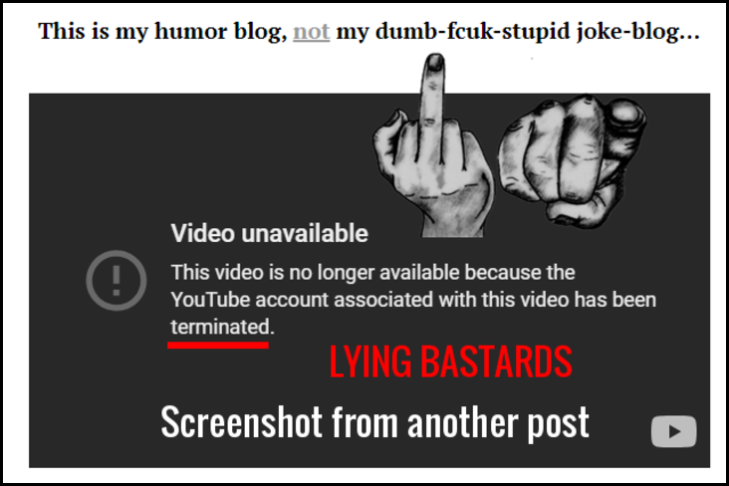 LYING BASTARDS YOUTUBE Wider