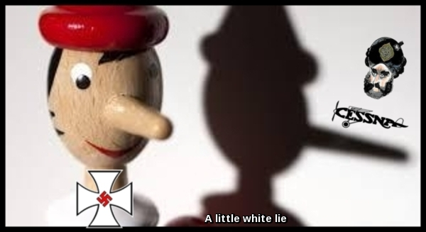 Pinocchio wood ~ A little white lie 600