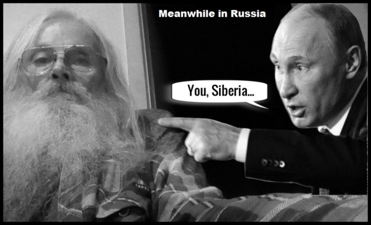 Robby and Vladimir ~ Meanwhile in Russia